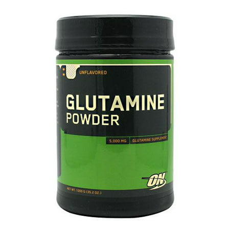 Optimum Nutrition Glutamine Powder   Unflavored  1000 G  35 2 Oz