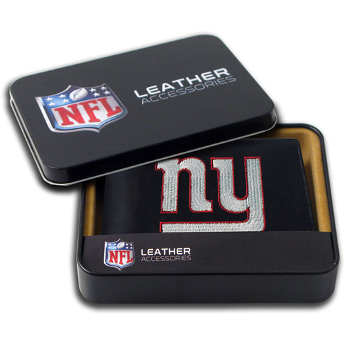 NFL - Men's New York Giants Embroidered Billfold Wallet
