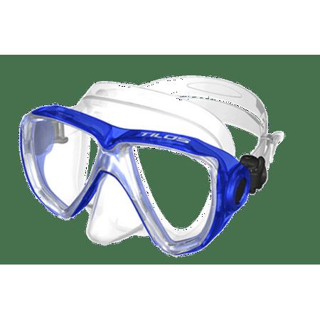 Tilos Cyclops II Kids Dive Mask (Blue) (Blue Ranger Mask)