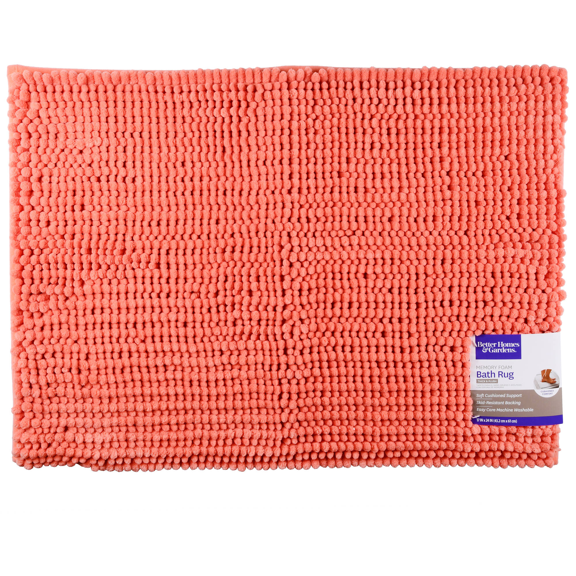 Click here to buy Better Homes & Gardens Noodle Memory Foam Bath Rug by Refine.