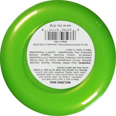 Jar Fx Molding Wax Pliable Hair 2 Oz