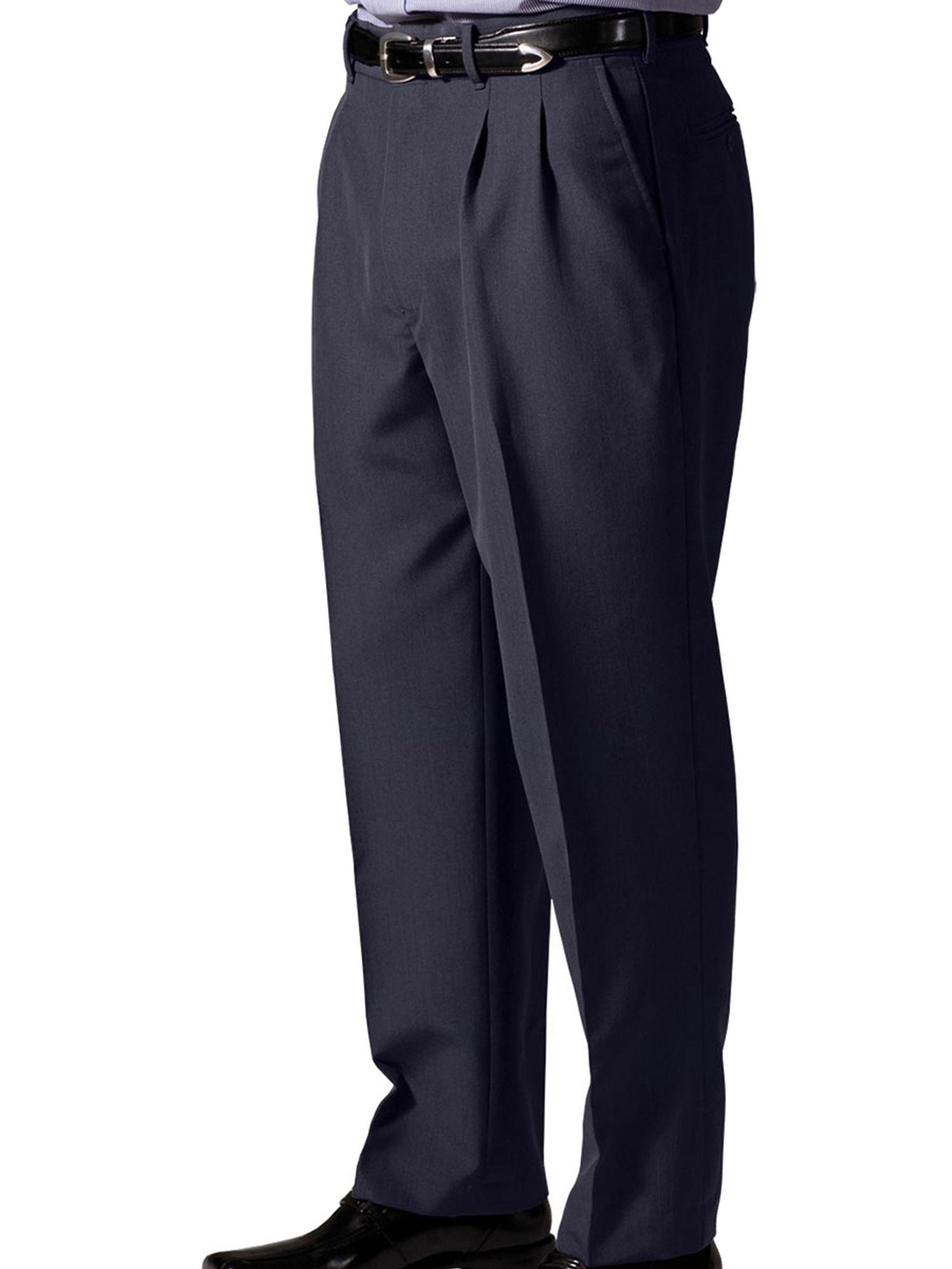 Edwards Garment Men's Pleated Dress Pant