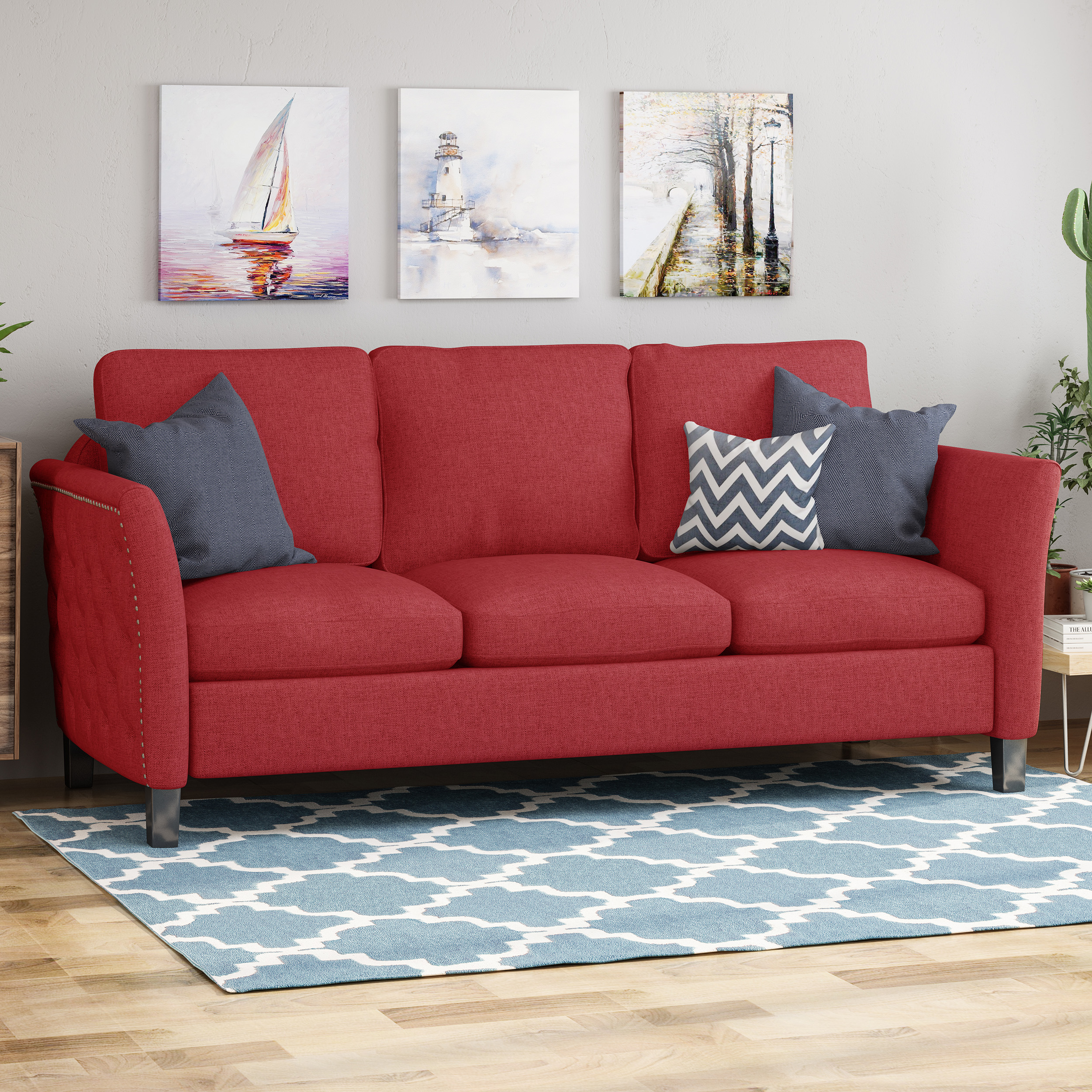 Betty Traditional Fabric Sofa