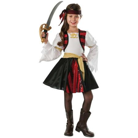 Girls High Seas Pirate Costume - Girls Pirate Costume