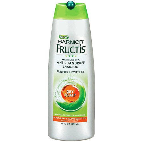 Garnier Fructis Dry Scalp Anti-Dandruff Shampoo, 13 oz