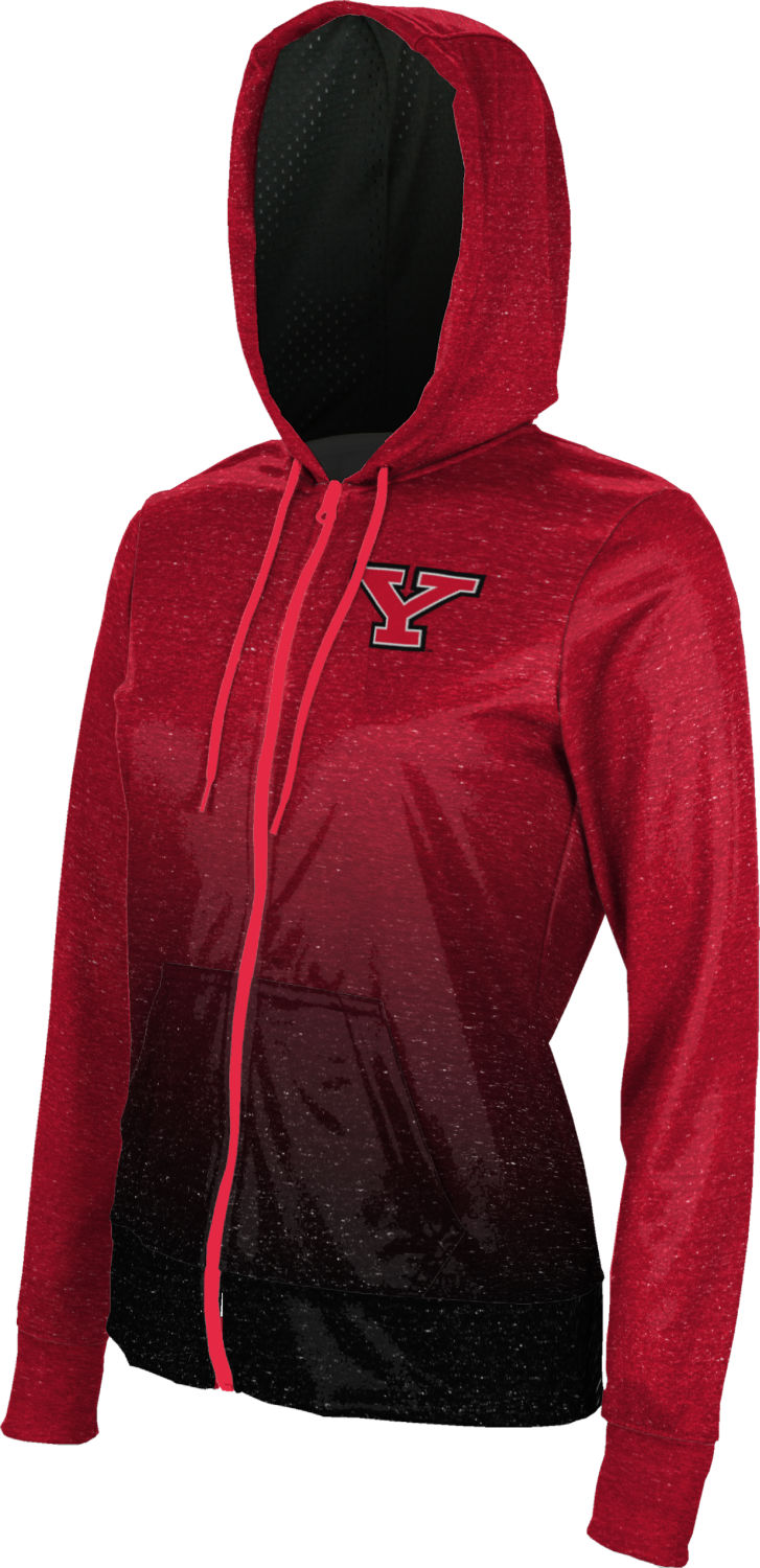 Ombre ProSphere Youngstown State University Mens Fullzip Hoodie