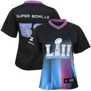Girls Youth Super Bowl LII Game Jersey - Black
