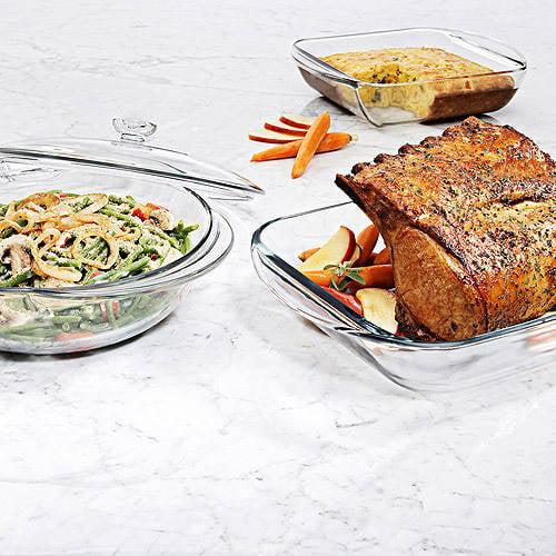 Anchor Hocking 4-Piece Bakeware Set