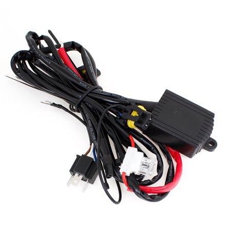 Unique Bargains Automobile Car H4 Hi/Lo Bi-Xenon Light Wiring Controller Fuse Relay Harness