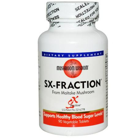 Mushroom Wisdom (Formerly Maitake Products) Maitake SX-Fraction 90 Tab Vegi, Pack of 2 ()