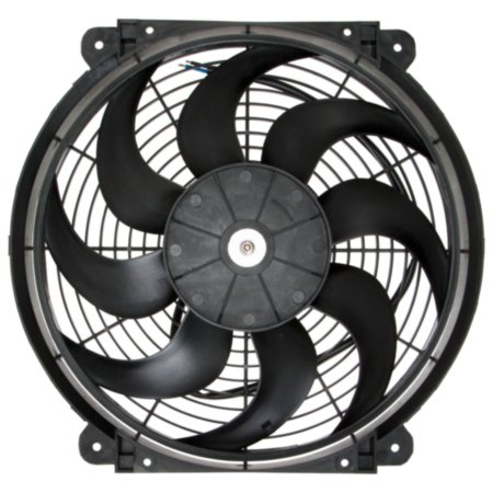 Imperial Electric Fan - 14  Diameter Electric fan with 14  diameter. Imperial electric fans are reversible for push or pull operation and are designed with a thin, aerodynamic profile for applications with limited space.