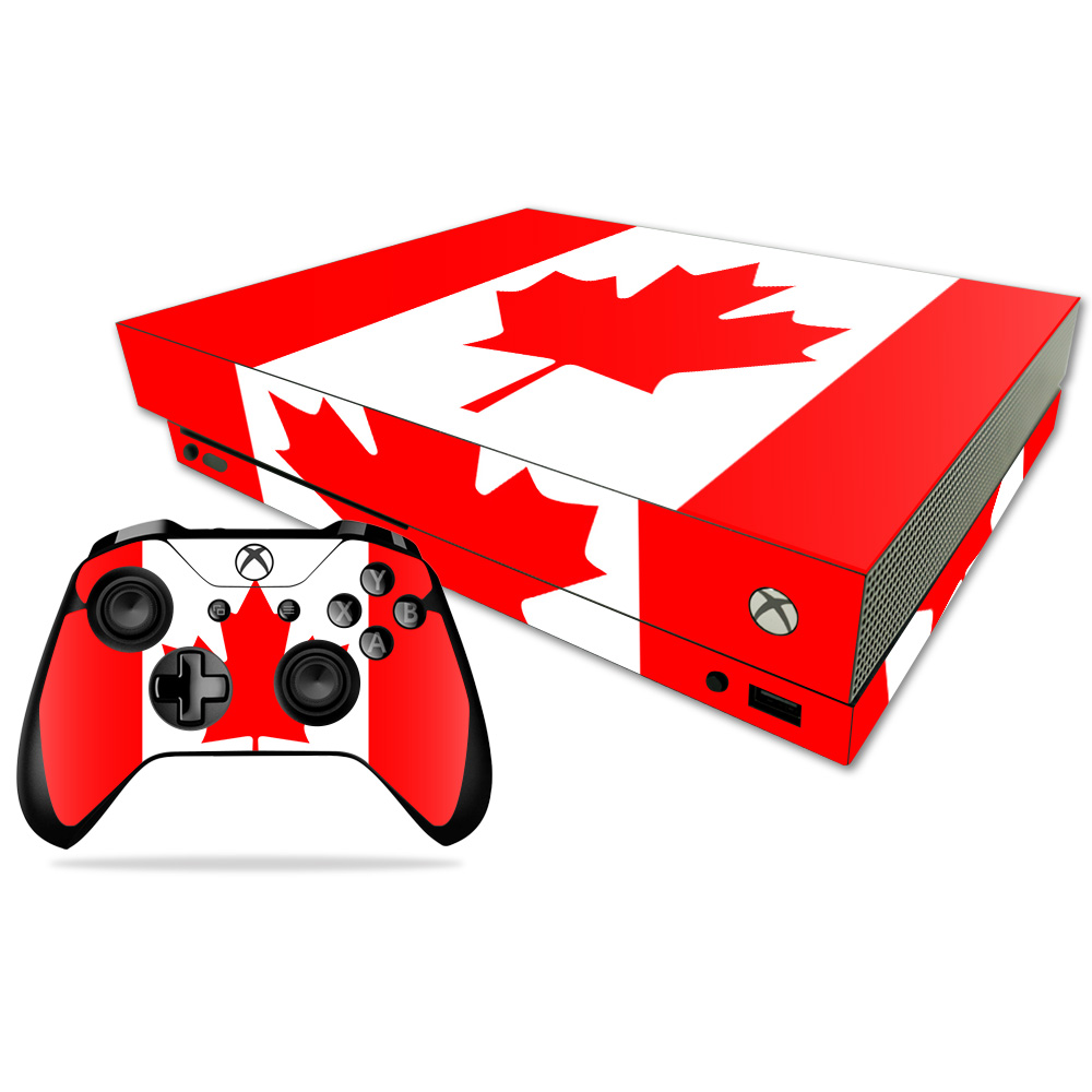 MightySkins Skin For Xbox One X | Protective, Durable, and Unique Vinyl Decal wrap cover | Easy To Apply, Remove, and Change Styles | Made in the USA