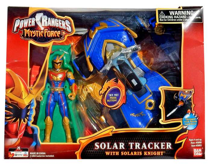 Situation Power rangers mystic force