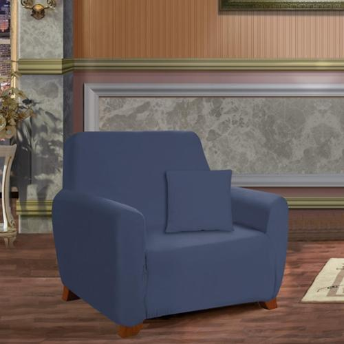 Elegant Comfort Jersey Stretch Chair Slipcover Chair, Chocolate