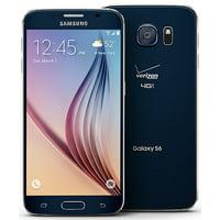 Samsung Galaxy S6 G920V 32GB Unlocked Verizon/GSM Phone Black Sapphire - Refurbished