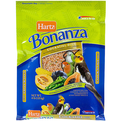 Hartz 97622 4 lb Nutrition Bonanza Gourmet Diet For Birds