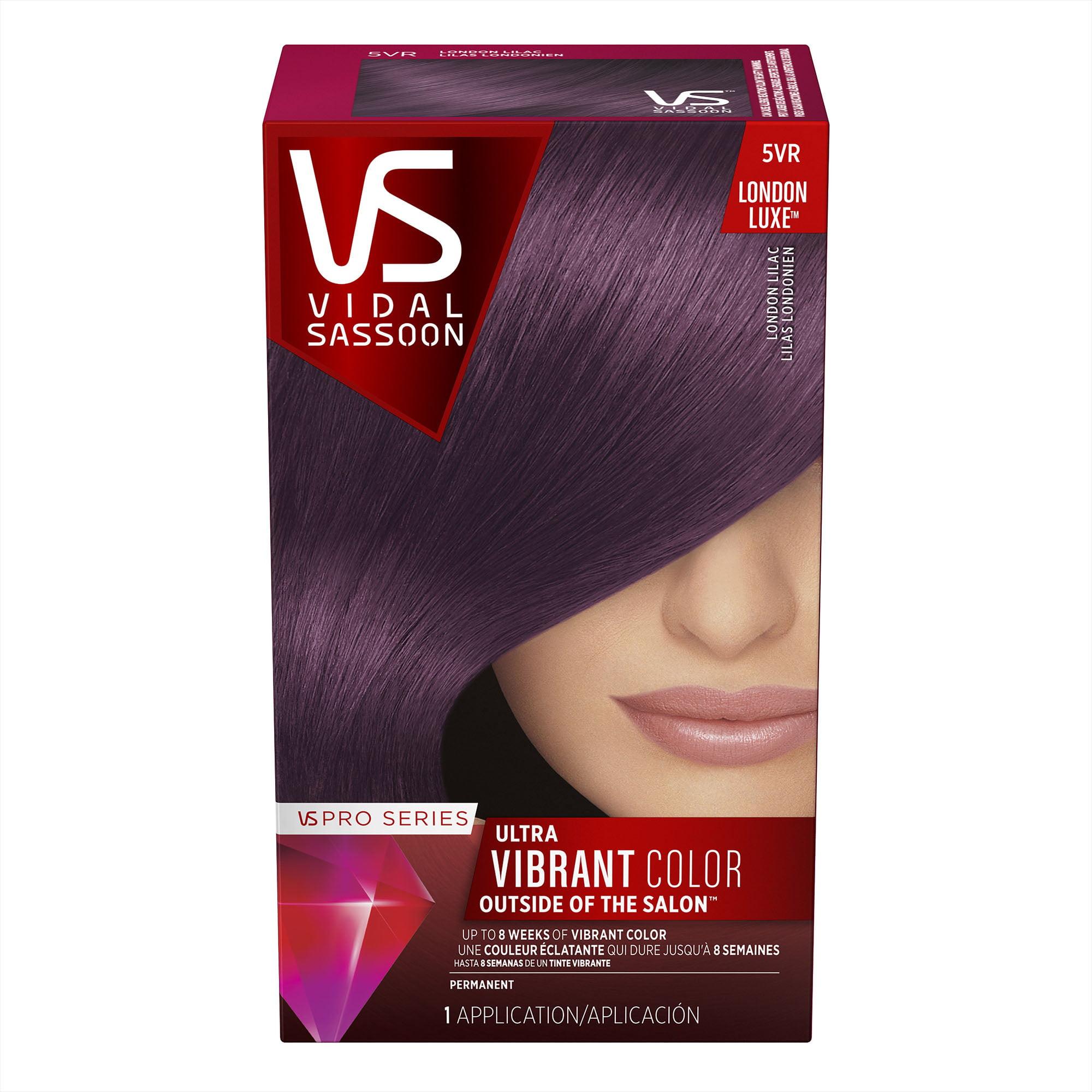 Vidal Sassoon Pro Series Hair Color 4gn Dark Royal Chestnut Walmart Com Walmart Com