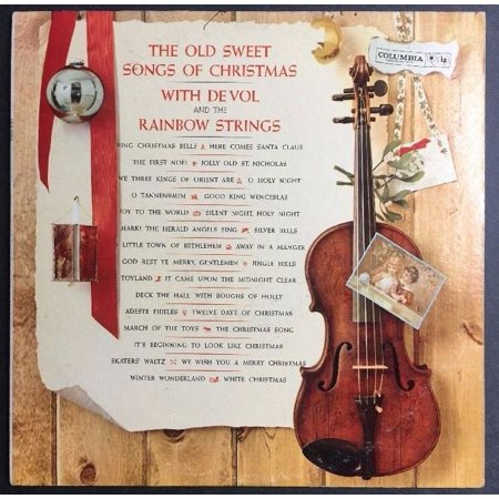 De Vol and the Rainbow Strings - The Old Sweet Songs Of Christmas VINYL CL 1543 ()