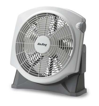 AIR KING Window/Floor Fan,1385/1250/1080 cfm,14in 9935