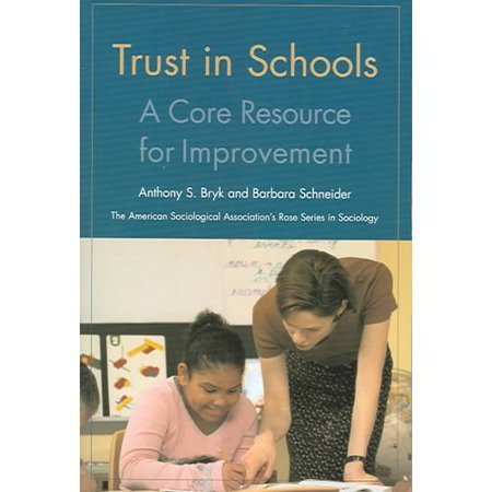 Trust In Schools   A Core Resource For Improvement