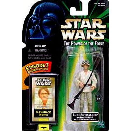 Luke Skywalker Action Figure Blaster Rifle &