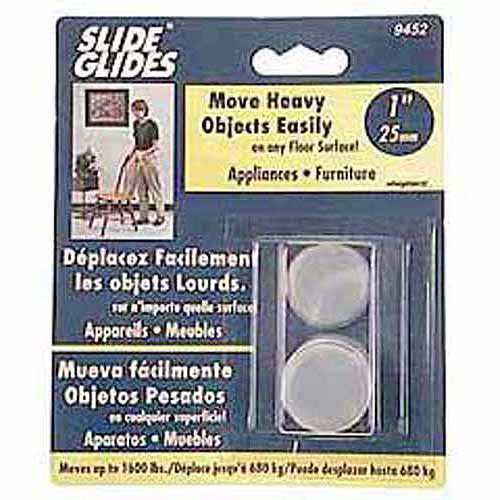 "Shepherd 9454 4-Count 2-1/2"" Self Adhesive Base Glides"