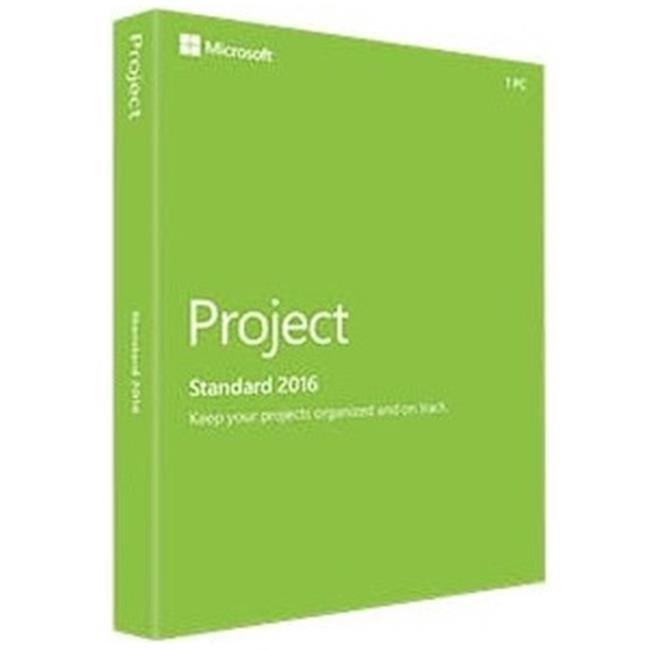 Microsoft Z9V-00347 Project 2016 Standard by Microsoft