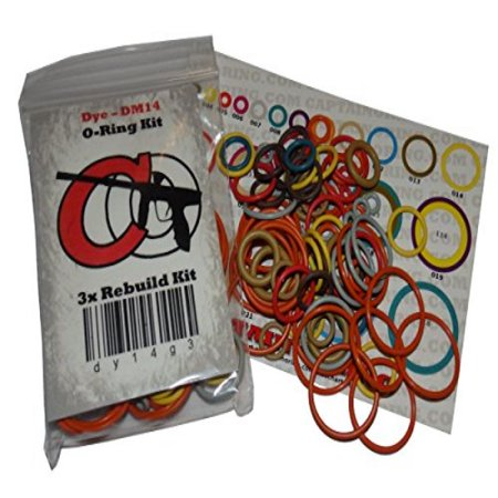 Bob Long Gen5 Protege / Vice Intimidator - Color Coded 3x Oring Rebuild Kit
