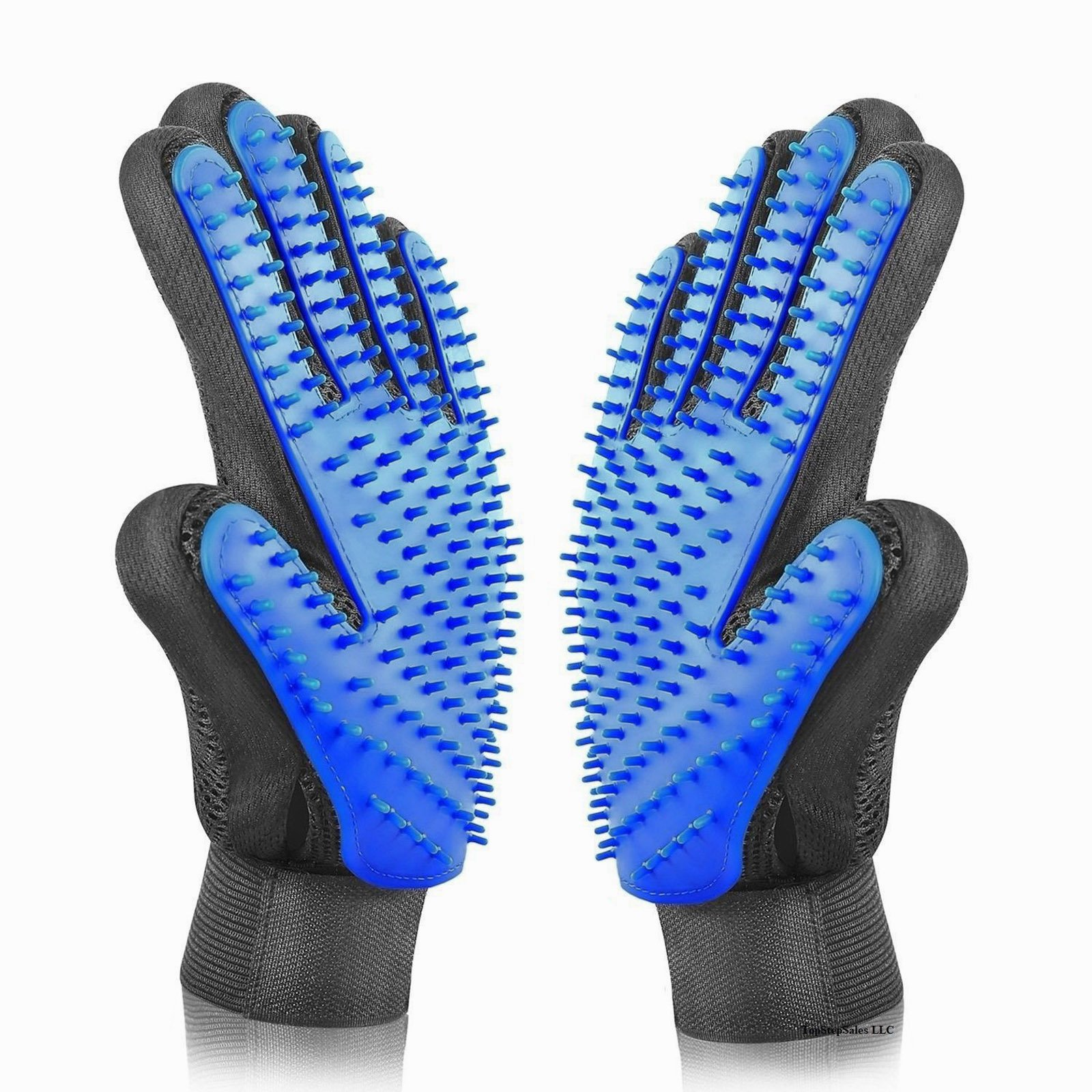 Pet Hair Brush Soft Silicone Comb Gloves Dog Cat Grooming Remover