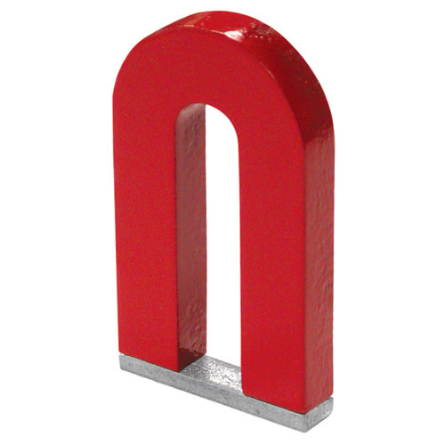 "Master Magnetics 07225 2"" Horseshoe Tall Magnet with Keeper"