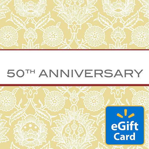50th Anniversary Walmart eGift Card