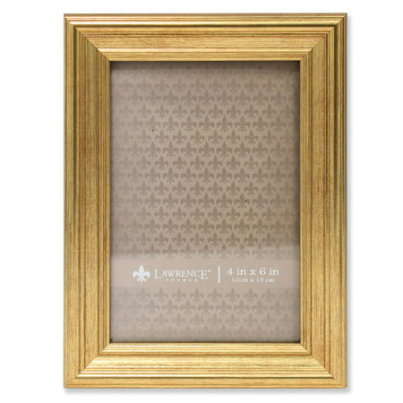 4x6 Sutter Burnished Gold Picture Frame](4x6 Gold Frames)