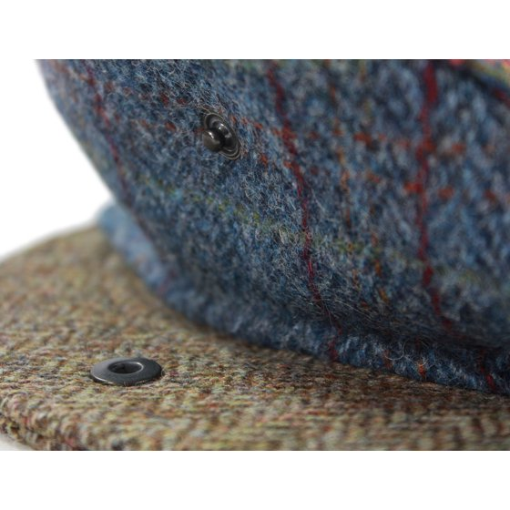 10c163494c3b6 John Hanly   Co. - Kids Flat Cap Patchwork Wool Tweed Elastic Back Irish  Made - Walmart.com