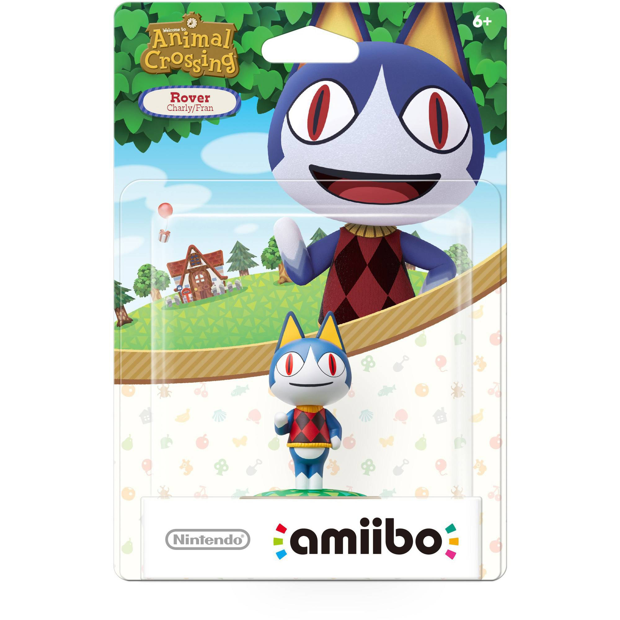 Rover, Animal Crossing Series, Nintendo amiibo, NVLCAJAP
