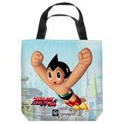 Astro Boy City Boy Tote Bag White 18X18