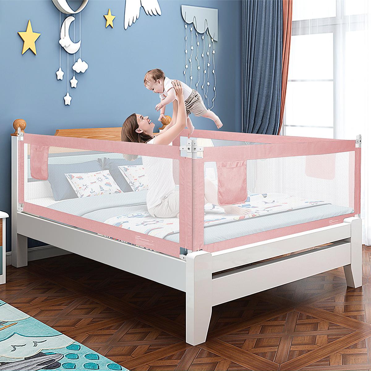 Grey Summer Infant Extra Long Folding Single Bedrail