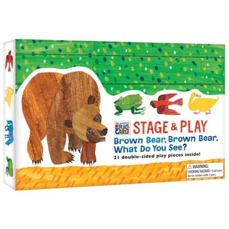 The World of Eric Carle(TM) Brown Bear, Brown Bear, What Do You See? Stage & Play - Brown Bear Brown Bear Book