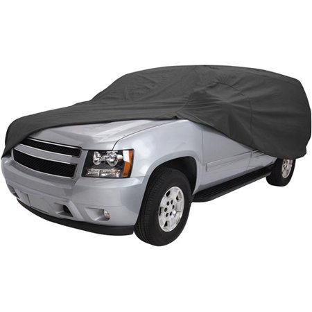 Classic Accessories OverDrive PolyPRO™ 3 Heavy-Duty Car Cover - Full-Size SUV or Truck Cover, 188