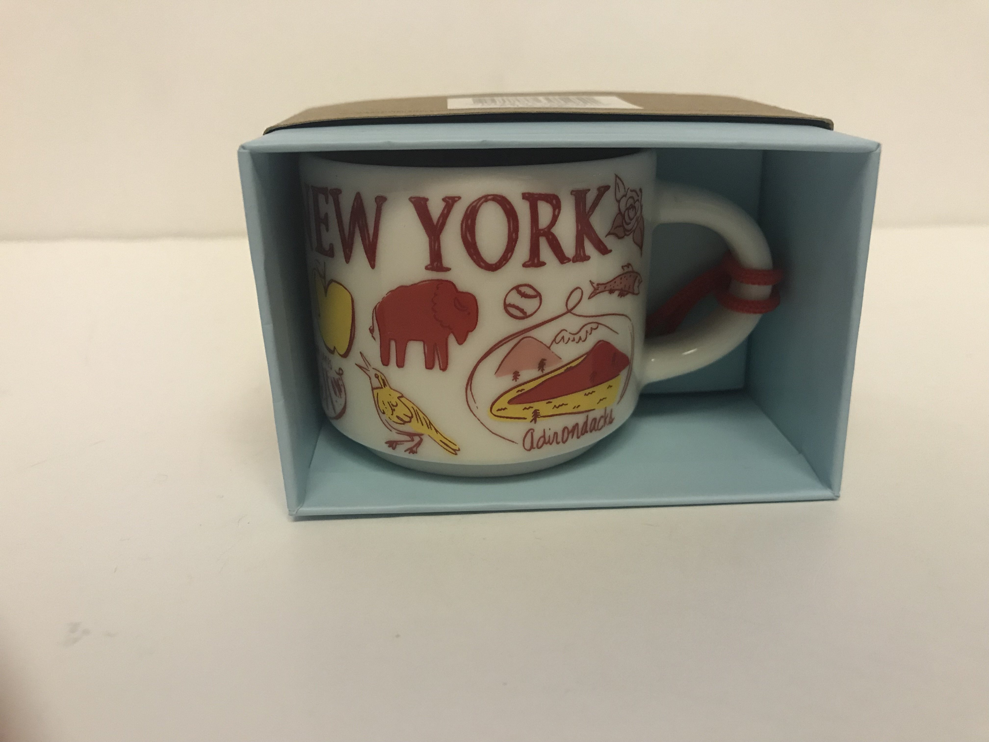 Starbucks Coffee Been There New York Ceramic Mug Ornament New With Box Walmart Com Walmart Com