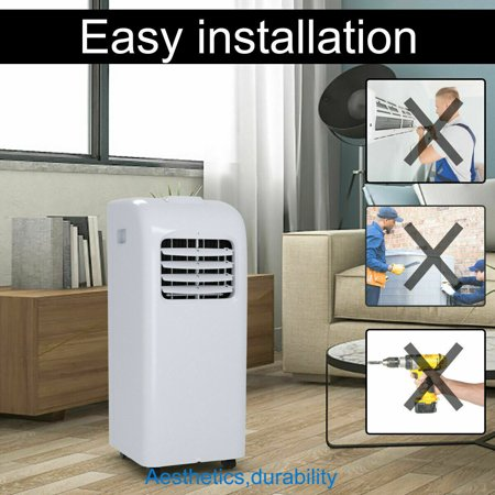 10000 BTU Air Conditioner & Dehumidifier w/ Remote Control Window Kit - image 5 of 10