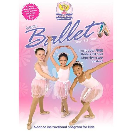 Tinkerbell's Learn Ballet Step by Step - Tinkerbell Movie