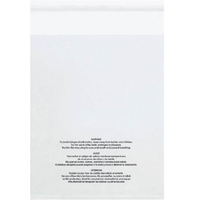 Box Helmets PMV142015 14 x 20 in. 1.5 Mil Resealable Suff...