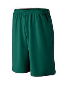 Augusta Sportswear MEN'S LONGER LENGTH WICKING MESH ATHLETIC SHORT 802