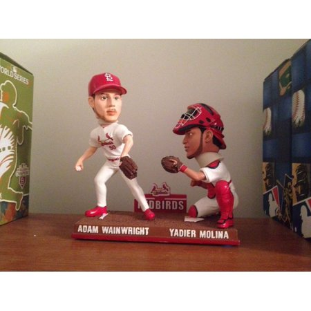 Adam Wainwright, Yadier Molina St Louis Cardinals Baseball Duo, Redbirds (2013 Gold Glove Winners) (Golden Glove Winners)