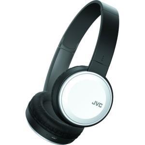 JVC HA-S190BT Colorful Bluetooth On-Ear Headset w/ Mic - White