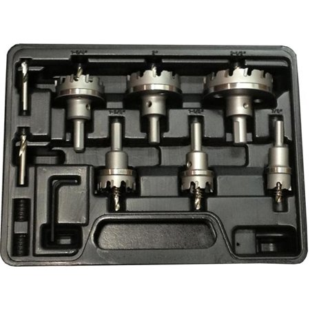 - Electricians Carbide Tipped Hole Cutter Set, 3/16