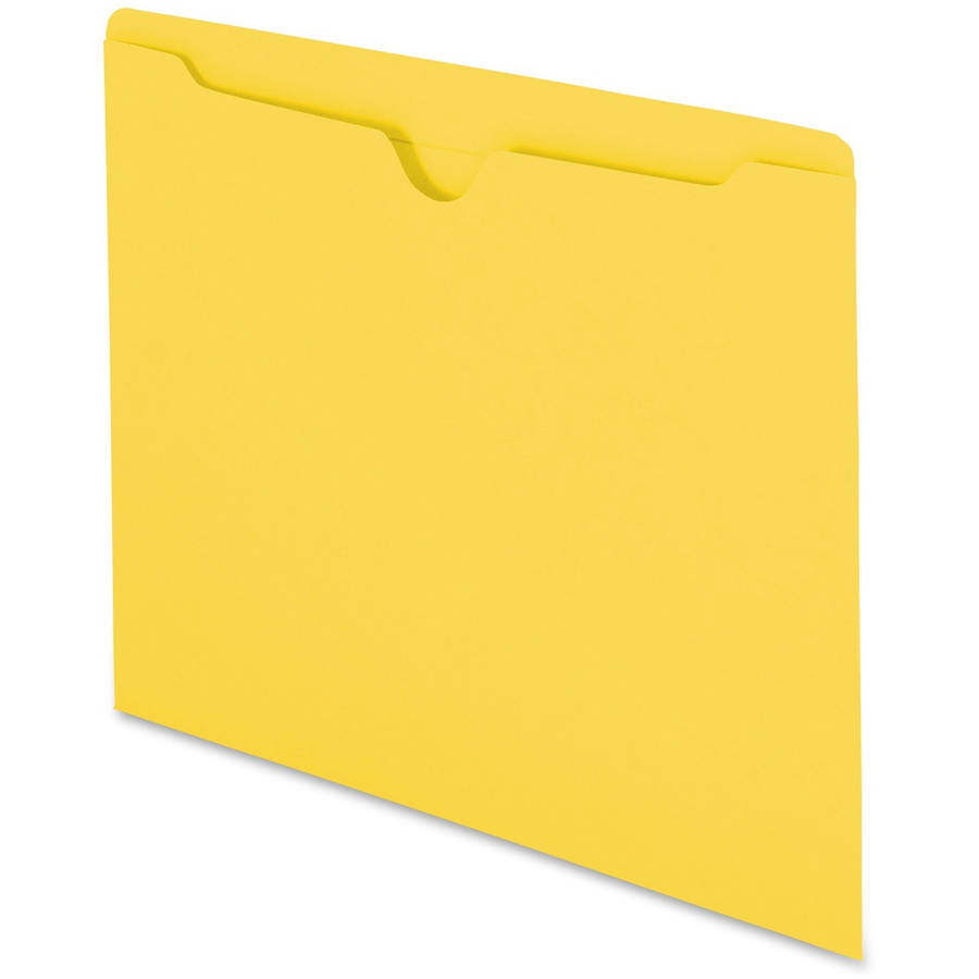 Smead Top-Tab Color-Coded File Jackets