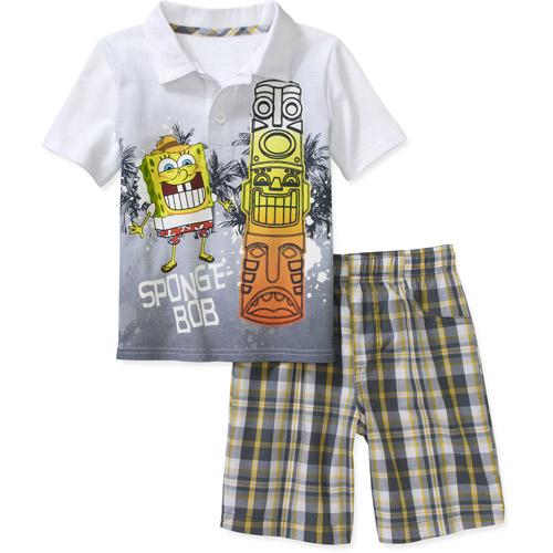 Nickelodeon Baby Boys' Spongebob 2 Piece