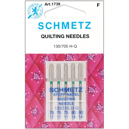 Schmetz Needle Quilting Astd Size 75/90 (pack of (Best Sewing Machine Needles For Quilting)