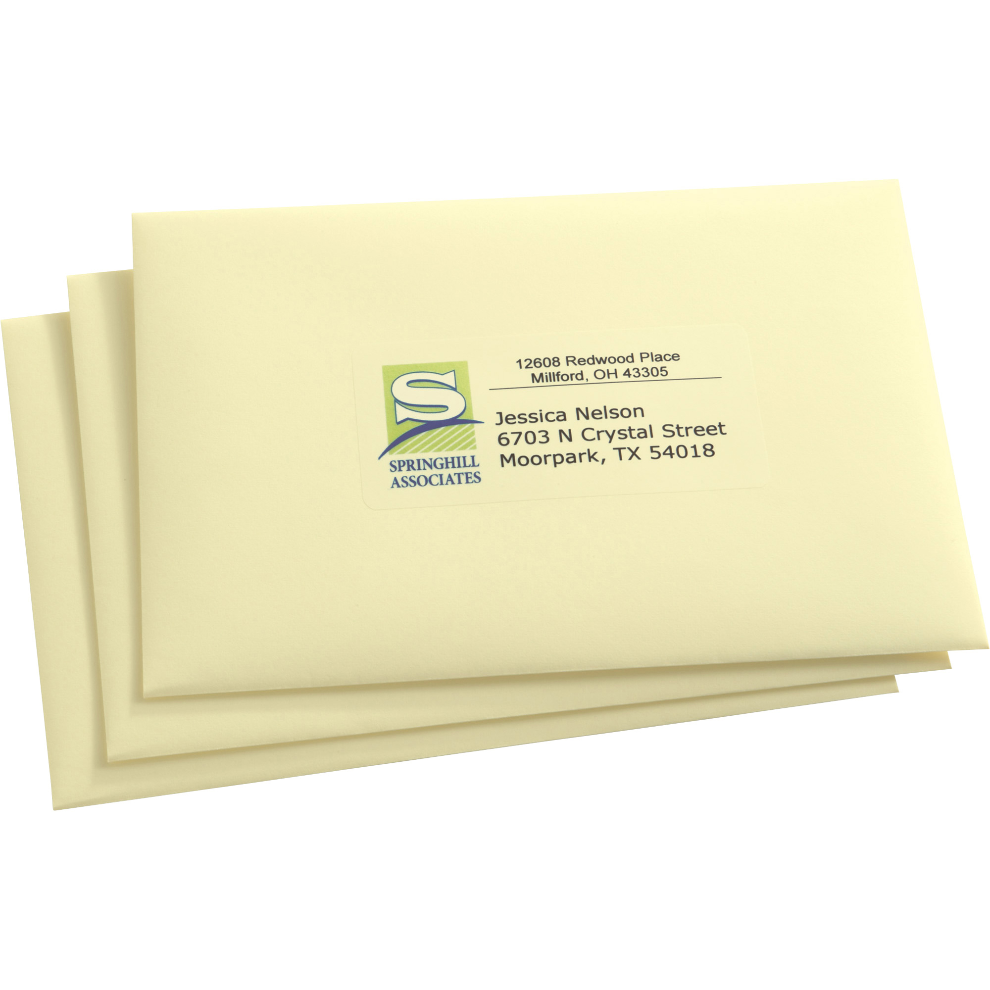 avery matte clear easy peel address labels 1 x 2 5 8 750 pack